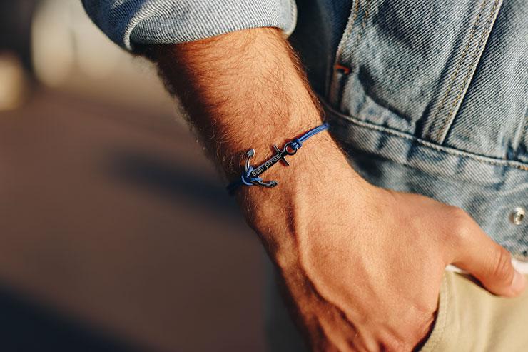 bracelet-personnalise-ancre-merci-maman